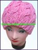 Ladies Wool Knit Stocking Cap