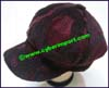 Ladies Leatherette Newsboy Cap
