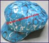 Ladies Shiny Newsboy Cap