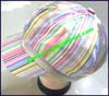 Ladies Stripe Newsboy Cap