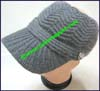 Ladies Crocheted Sunshade Hat