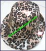 Ladies Animal Print Trilby Hat