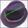 Ladies Hemp Trilby Hat