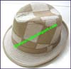 Ladies Patchwork Trilby Hat