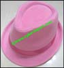 Ladies Solid Color Trilby Hat