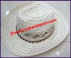 Ladies Hemp Western Cowboy Hat