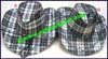 Ladies Plaid Western Cowboy Hat
