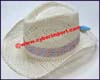 Ladies Straw Western Cowboy Hat