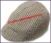 Men's Houndstooth Ivy Cap