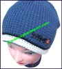 Men's Embroidered Knit Stocking Cap
