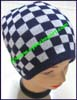Men's Patterned Knit Stocking Cap