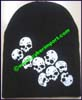 Men's Skull Knit Stocking Cap