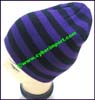 Men's Stripes Knit Stocking Cap