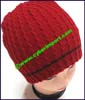 Men's Two-Color Knit Stocking Cap