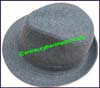 Men's Fur Trilby Hat