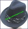 Men's Linen Trilby Hat