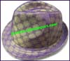 Men's Pattern Trilby Hat