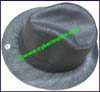 Men's Straw Trilby Hat