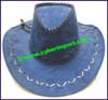 Men's Leatherette Western Cowboy Hat