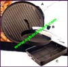Kitchen Cookware Pan Griddle