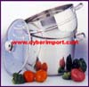 Kitchen Pot Steamer Set Stainless