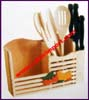Rack Utensils Wood