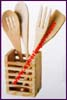 Kitchen Rack Utensils Wood