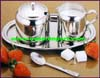 Serving Condiments Sugar Creamer Stainless