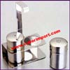 Stainless Salt Pepper Shakers