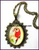 Parrot Alloy Zinc Necklace
