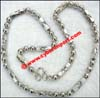 Necklace Chain Silver White Gold Plate
