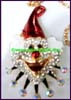 Clown Rhinestone Necklace