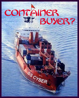 Container Ship for Large Buyers