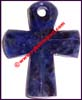Pendant Cross Sodalite