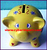 Piggy Bank Polyresin