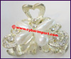 Hair Ornaments Claw Rhinestone
