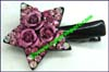 Hair Ornaments Clip Alligator Rhinestone