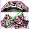 Hair Ornament Pony Holder Rhinestone